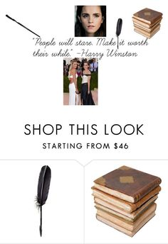 """""""CONTEST O3;; FASHIONS FADE BUT STYLE IS ETERNAL"""" by rhiannonnecole ❤ liked on Polyvore featuring Emma Watson, Maison Margiela and Ceramiche Pugi"""