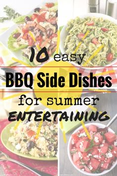 10 Easy BBQ Side Dishes for Summer Entertaining Burger Side Dishes, Barbecue Side Dishes, Best Side Dishes, Camping Side Dishes, Main Dishes, Grilling Recipes, Cooking Recipes, Cooking Tools, Bbq Menu