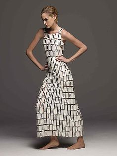 Paco Rabanne Dress 2012   Want simple but sophisticated? Then you can't go wrong with black ...