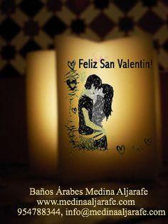 Velas Especial San Valentín en los Baños Árabes de Sevilla, Medina Aljarafe, www.medinaaljarafe.com/ofertas