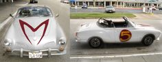 Mach 1 Karmann Ghia. Doing It... with a matching Cafe Racer