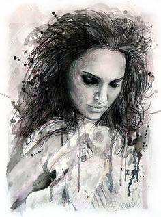 Natalie Portman by DeniseEsposito.deviantart.com on @deviantART