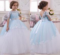 vestidos de niñas floristas - Buscar con Google