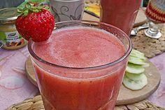 Erdbeer - Banane - Apfel - Smoothie (Rezept mit Bild) | Chefkoch.de