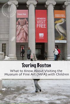Touring Boston?  Here is what you need to know before visiting Museum of Fine Art (MFA) with Children