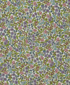 Liberty Art Fabrics Emilia's Flowers D Tana Lawn
