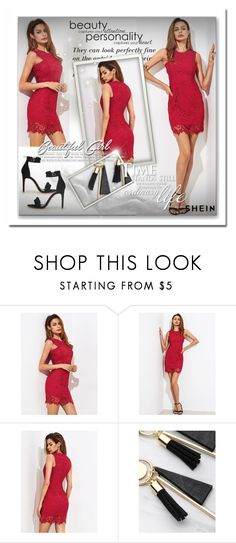 """""""Shein 10/10"""" by sanela1209 ❤ liked on Polyvore featuring Grey's Anatomy"""
