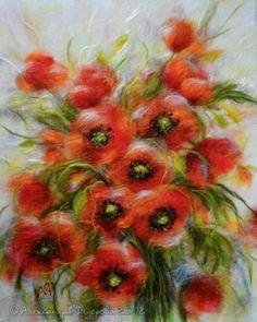 Картины из шерсти Александры Федоровой