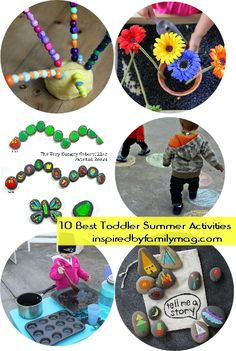 10 + best toddler summer activities & $50 Babies R' Us gift certificate to a lucky reader!