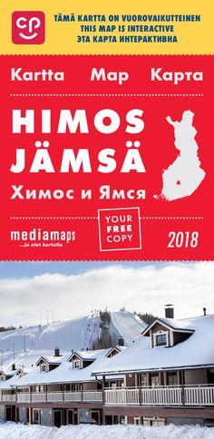 Uusi Mediamapsin Himos & Jämsä -kartta on ilmestynyt