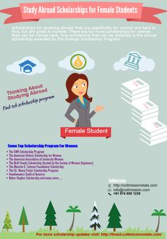 Scholarships for women candidate #Infographics