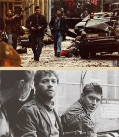 The End. <3 <3 <3 #Supernatural by ive-got-the-king-of-hell-in-my-trunk