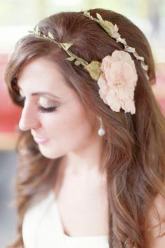 Real Bride Lindsay | Hair and Makeup  Photos by Simply Bloom