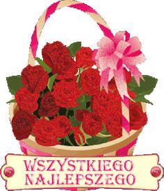 Urodziny i imieniny: Gify urodzinowe Raspberry, Happy Birthday, Basket, Christmas Ornaments, Fruit, Holiday Decor, Ps, Google, Beautiful
