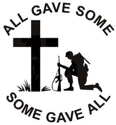 All Gave Some Some Gave All Military Vietnam Soldier Decal   Custom Size/Color #Oracal