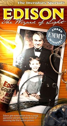 Edison: The Wizard Of Light DVD 2001 BRAND NEW SEALED FREE SHIPPING TRACKING US