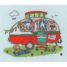 BOTHY-THREADS-SEW-DINKY-CARAVAN-BY-AMANDA-LOVERSEED-CROSS-STITCH-KIT-NEW