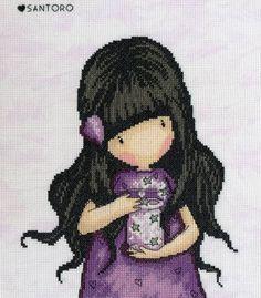 Gorjuss We Can All Shine Cross Stitch Kit £25.00 | Past Impressions | Bothy Threads