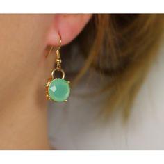 Náušnice Bay Mint | Womanology.sk #earrings #fashionjewelry #fashionjewellery #costumejewelry #costumejewellery #bijouterie #bijoux #fashion #style #accessories Mint, Drop Earrings, Pretty, Jewelry, Fashion, Jewels, Jewlery, Moda, La Mode
