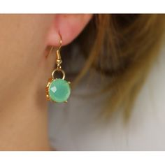 Náušnice Bay Mint   Womanology.sk #earrings #fashionjewelry #fashionjewellery #costumejewelry #costumejewellery #bijouterie #bijoux #fashion #style #accessories