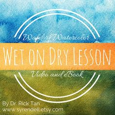 Check out our highly favorited Waldorf Watercolor Wet on Dry Lesson - Video and eBook in our Syrendell Etsy shop!