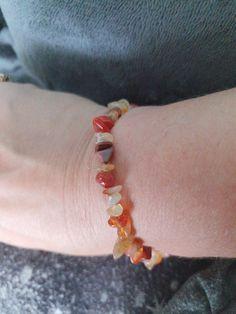 Carnelian healing bracelet  £4.50 plus £2.26 p&p  www.wiccanwonders.co.uk Healing Bracelets, Beaded Bracelets, Carnelian, Jewellery, Jewelery, Jewelry Shop, Pearl Bracelets, Jewlery, Seed Bead Bracelets