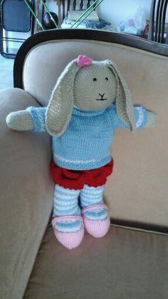 ארנבת. 2 מסרגות 2014