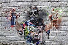 Horror Photography, Art Photography, Graffiti Wallpaper, The Darkest, Street Art, Photoshoot, Graphic Design, Image, Sick