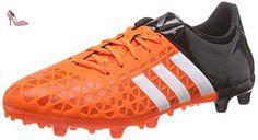 adidas ACE 15.3 FG/AG, Chaussures de Football homme, Multicolore (Orange / Black / White), 39 1/3 EU - Chaussures adidas (*Partner-Link)