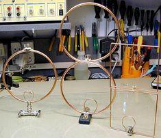Eight-shaped 2m magnetic loop