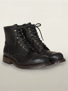 Leather Bowery Boot - RRL Boots - RalphLauren.com