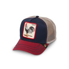 4540750c18c All American Rooster Cotton Baseball hat - Goorin Bros Hat Shop Hat Shop