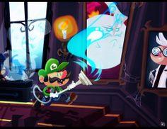 Luigis Mansion by Tigerhawk01.deviantart.com on @deviantART