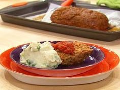 Cajun Meatloaf - shown on Rachael Ray show