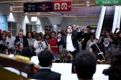 La actuación en Moncloa fue un pequeño adelanto de los conciertos que se ofrecerán el 17 y 18 de octubre en el Auditorio Nacional. #fsorchestra #2013 #fso #filmsymphony #musica #orquesta #cine #concierto