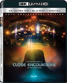 Close Encounters Of The Third Kind (3 Discs) (4K + Blu-ray + UltraViolet)