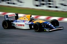 Damon Hill, who had qualified on Pole, had to start from the back of the grid after his Renault failed to fire up on the parade lap. Damon cut through the field to finish Portuguese GP, Estoril, September Damon Hill, Formula 1, Formula One Champions, F1 Drivers, F1 Racing, Indy Cars, F 1, Le Mans, Motor