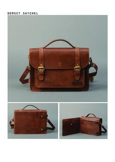 Forbes   Lewis - Dorset  Satchel    Vintage  Leather 63d2dd2157