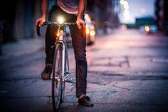 This Smart Bike Navigation Gadget Relies On A Slick Ambient UI | Co.Design | business + design