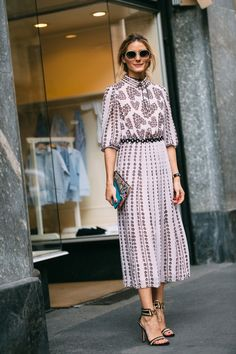 nice Olivia Palermo - SS17 MFW Street Style - September 2016...