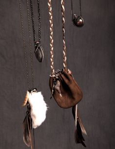 Medicine bags. Perfect for carrying little gemstones and herbs.