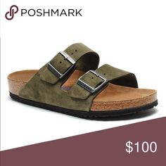 ISO Sz 36/37 Olive Green Suede Arizona Birkenstock NOT FOR SALE!!!! IN SEARCH OF! NOT SELLING! Please help me find these! I've wanted them forever Birkenstock Shoes Sandals