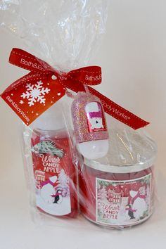 bath and body works winter candy apple clean cozy gift set 2015 holiday edition