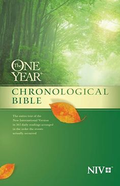 The One Year Chronological Bible NIV, http://www.amazon.com/dp/1414359934/ref=cm_sw_r_pi_awdm_x_TXeZxbEEWD689