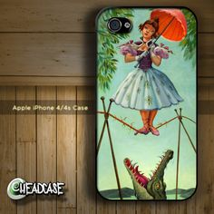My new iphone cover from Etsy! :) Haunted Mansion Stretching Room Painting - iPhone 4 4s Hard Case Cover - Disney World
