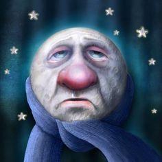 Jeremy Norton Illustration - Cold Moon