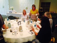 Hoover Country Club Ladies' Night Painting party 2015