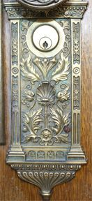 Symbols on Salt Lake Temple Doorplate