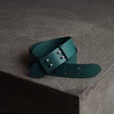 08ac29b30 Burberry The Small Belt Bag Grainy Leather Belt Cinturón De Cuero, Burberry,  Estados Unidos