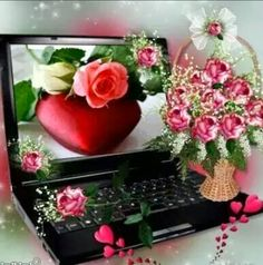 This flower from my heart to you 1